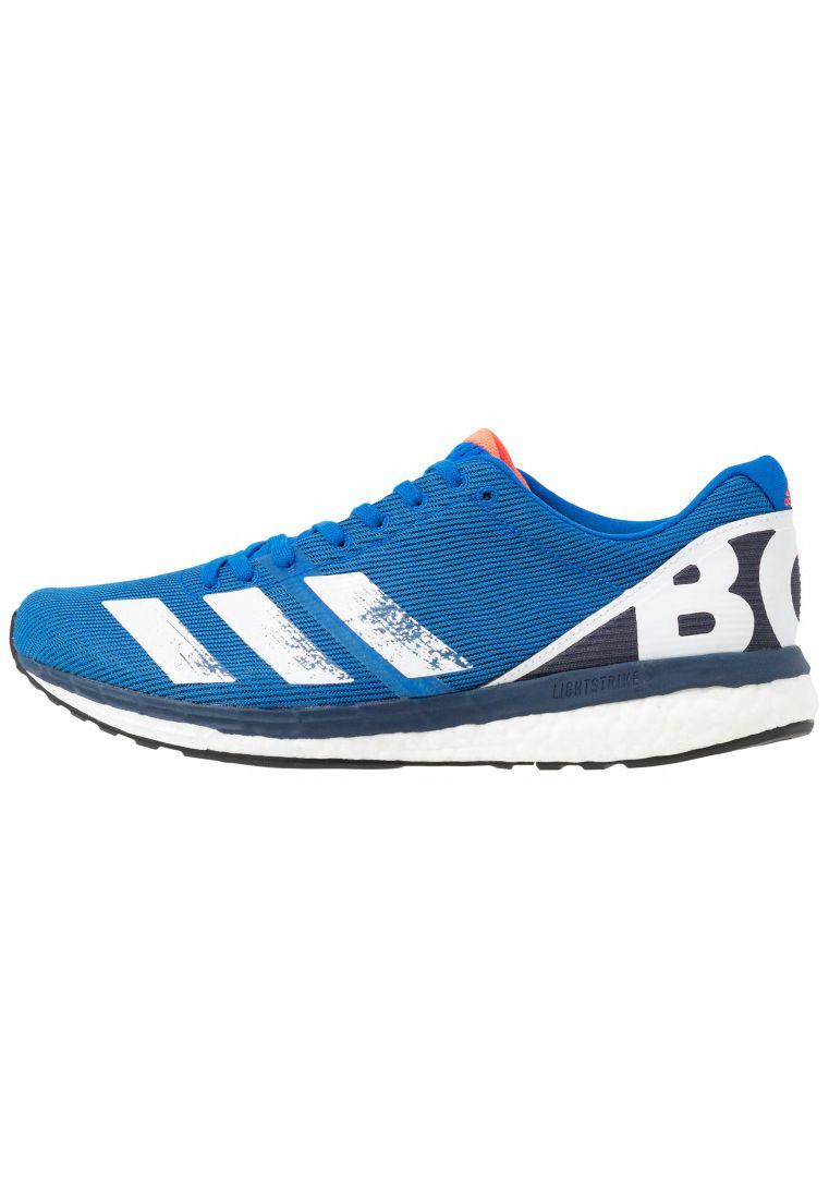ADIZERO BOSTON 8 Chaussures de running compétition Glow Blue/White/Trace Blue | Running adidas Performance Homme – Pastel Vegano